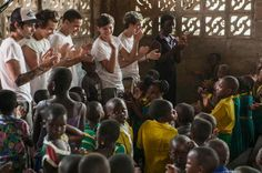 One Direction visit a children's hospital in Ghana for Comic Relief