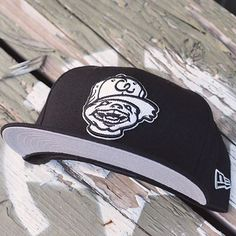 b988bc1a42c Chewy Logo - Black NewEra Fitted w  Grey Undervisor by CapEaters Street Wear