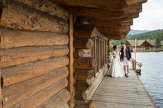 Preppy Lake House Wedding Inspiration in the Rocky Mountains by Glow Events
