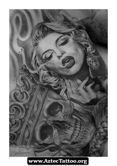 Jose Lopez Aztec Tattoos 05 - http://aztectattoo.org/jose-lopez-aztec-tattoos-05/