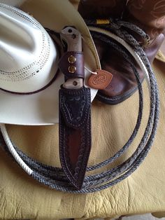 A COCAJO western style sheath for the cowboy in all of us.