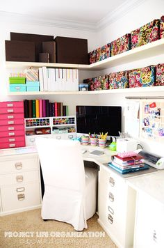 beautiful, organized office