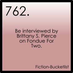 Fiction Bucket list.