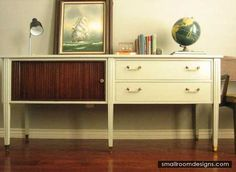 Mid-Century Cabinets For Classic Taste - http://www.smallroomdesigns.com/small-kitchen-design/mid-century-cabinets-for-classic-taste.html