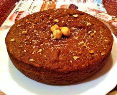 Cocina fácil y saludable: Bizcocho low-carb de avellana y chocolate