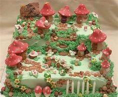 Fairy Garden Cake  fantasy cakes - a gallery on Flickr