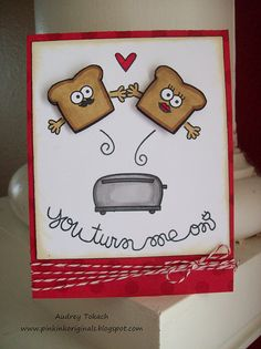 Cute card - Paper Smooches stamps