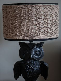 Free Crochet Pattern Download -- This Shell Stitch Lampshade Cover, designed by Carrie Carpenter, is featured in episode 6, season 3 of Knit and Crochet Now! TV. Learn more here: https://www.anniescatalog.com/knitandcrochetnow/patterns/detail.html?pattern_id=96&series=2