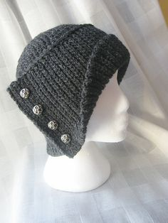 Ravelry: SN0WDR0PS's Winter Cloche Ravelry, Crochet Hats, Winter, Fashion, Caps Hats, Knitting Hats, Winter Time, Moda, Fashion Styles