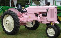 Pink John Deere Tractor by Donnali, via Flickr