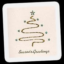 How to make a beautiful Christmas card with gold sparkle fabric paint. Christmas Card Crafts, Christmas Tree Cards, All Things Christmas, Handmade Christmas, Christmas Ideas, Beautiful Christmas Cards, Gold Sparkle, Card Making Inspiration, Hair Accessories