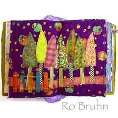 Ro Bruhn - detail from my latest journal on Etsy