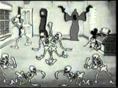 Walt Disney Cartoons   Mickey Mouse   Haunted House Halloween mickey mouse