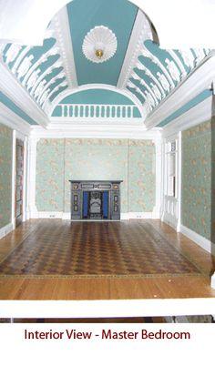 Italianate Victorian master bedroom by Alberto Gozzi