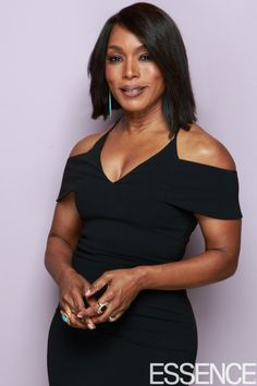 Angela Bassett at the ESSENCE 2017 Black Women In Hollywood Awards' Photo Booth