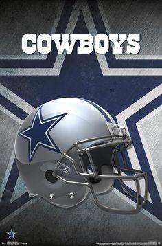 Dallas Cowboys - Helmet Logo Poster - NFL Football 14985 for sale online Dallas Cowboys Posters, Dallas Cowboys Wallpaper, Dallas Cowboys Decor, Dallas Cowboys Pictures, Cowboy Pictures, Dallas Cowboys Football Wallpapers, Official Nfl Football, Nfl Football Teams, Sports Teams