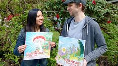 Legendary Worlds And Landscape Colouring Book Creators Carrie Wong Witek Radomski Are At Vernons
