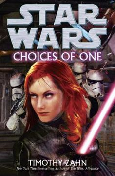 Luke Skywalker, Han Solo, Princess Leia, and Chewbacca head for Candoras Sector to evaluate an alliance proposed by the governor that would provide the rebels a new base, while Mara Jade and five renegade stormtroopers also head for Candoras to smash the rebels.  Star Wars: Choices of One by Timothy Zahn.