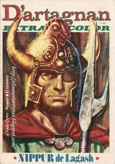 D'artagnan Magazine Nippur de Lagash by Robin Wood.  pepe sanchez