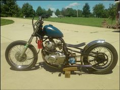 Excited About My Exciter Rat Bike Bobber Bike