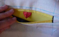 De belles poches passepoilées - Le blog thread&needles