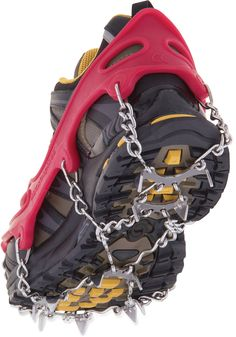 Add some traction to your hiking boots this winter.