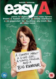 Easy A [DVD] [2011]: Amazon.co.uk: Emma Stone, Cam Gigandet, Stanley Tucci, Malcom McDowell, Penn Badgley, Will Gluck: Film & TV