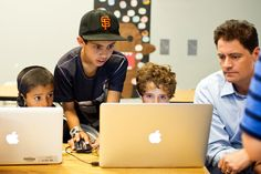 Schools are signing up to teach computer coding, which some view as a basic skill for today, and the tech industry-backed group Code.org is pushing basic coding even for the very young. // Reading, writing, and, lately, coding: an interesting look at the rise of programming classes in secondary schools. Computer science, once a stepchild of K-12 education, is taking off in a big way.