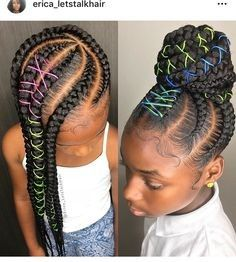 albums of Kids Hairstyle For School Explore thousands of new black kids haircut styles - Black Haircut Styles Little Girl Braids, Black Girl Braids, Braids For Kids, Braids For Black Hair, Girls Braids, Children Braids, Kid Braids, Tree Braids, Kids School Hairstyles