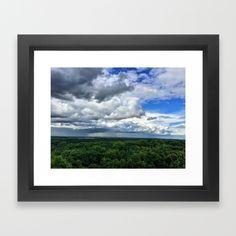 Rain Clouds Framed Art Print by LindseyJenningsPhotography