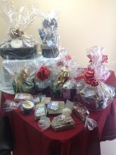 Variety of our gift baskets Holiday Gift Baskets, Holiday Gifts, Gift Wrapping, Xmas Gifts, Gift Wrapping Paper, Wrapping Gifts, Wrap Gifts