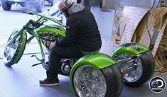 Trike Motorcycle, Bike, Paul Teutul Jr, Custom Trikes, Motorcycles, Design, Motorbikes, Bicycle