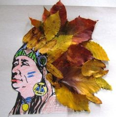 Leaf activities will be a fun activity for preschoolers, kindergartners. Leaf art activities with children& fun . Autumn Crafts, Fall Crafts For Kids, Art For Kids, Kids Crafts, Fun Activities For Preschoolers, Art Activities, Land Art, Art Indien, Popular Crafts