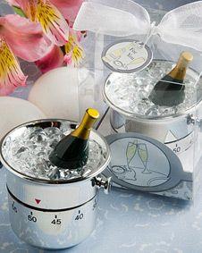 Whimsical champagne and ice bucket kitchen timer  favors #wedding #weddingfavor #favor #bridal #bridalshower #babyshower #shower #gift #sale http://www.bluerainbowdesign.com/WeddingFavorProduct.aspx?ProductID=PR10051117499900123456789XBRD66529