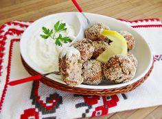 Chiftele de ton cu sos de iaurt ~ merisor si retetele ei