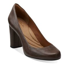 Nice texture Loyal Soul in Taupe Leather - Womens Shoes from Clarks d27980aca0