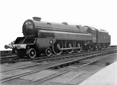 LMS Stanier Class 8P 'Princecess Royal' Turbomotive 4-6-2 - built 1935 by Crewe Works as LMS No.6202