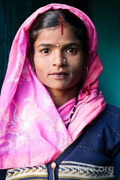 Woman in Rishikesh, India. Looks like Yannick's sister.