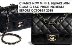 c45638eef05e Chanel Has Increased Prices Of The New Mini Classic Bag And Square Mini  Classic Bag