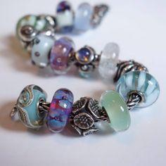 Trollbeads Inspiration from Leigh Webster! Dear Santa, Pandora, Stud Earrings, Jewels, Troll Beads, Bracelets, Inspiration, Beauty, Vintage