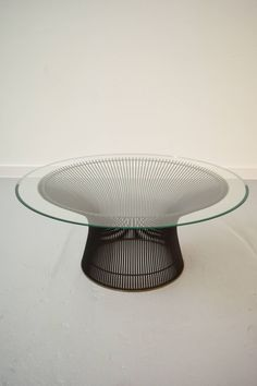 Warren Platner Bronze Coffee Table | From a unique collection of antique and modern coffee and cocktail tables at https://www.1stdibs.com/furniture/tables/coffee-tables-cocktail-tables/