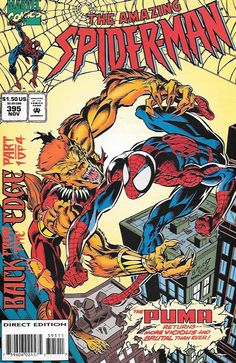 The Amazing Spider-Man #395 Marvel Comics Vol 1