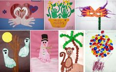 Pinterest Pin of the Week: An Entire Blog for Handprint, Footprint & Fingerprint Art - Pinned by @PediaStaff – Please visit ht.ly/63sNt for all (hundreds of) our pediatric therapy pins