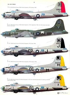 bombers of the Mighty Air Force unit Ww2 Aircraft, Fighter Aircraft, Military Aircraft, Fighter Jets, B 17, Aircraft Painting, Ww2 Planes, Nose Art, World War Two