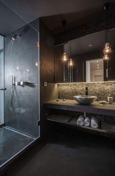 IDEAS by GALANSOBRINI ARQUITECTOS: Hacer de un baño un sitio más hogareño...