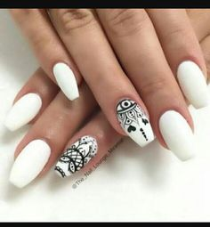 long nails, pretty, and matte nails image