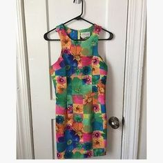 I just discovered this while shopping on Poshmark: Vintage 1990's mini dress. Check it out! Price: $25 Size: S