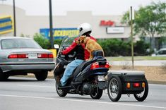 scooter cargo trailer - Google Search