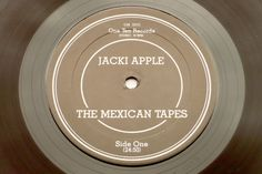 Jacki Apple - The Mexican Tapes LP side 1