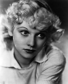 Lucille Ball, in 1930, at 19.